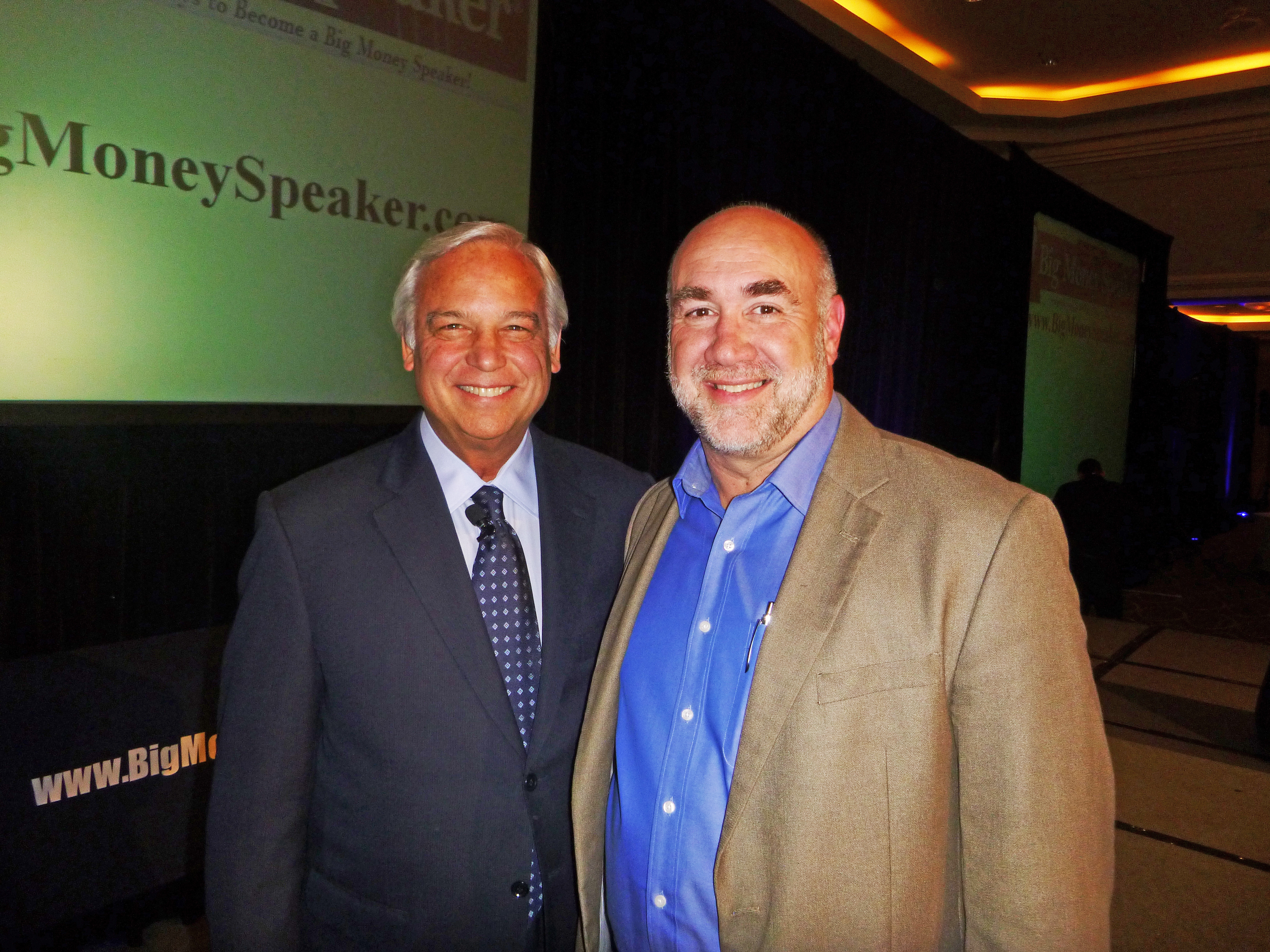 Dan with Jack Canfield