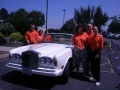 With Dean Martin's Rolls Royce