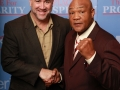 Dan with George Foreman