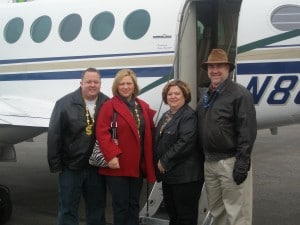 Atlantic City Private Jet With Contest Winners