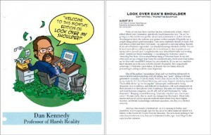 Dan Kennedy Look Over My Shoulder newsletter