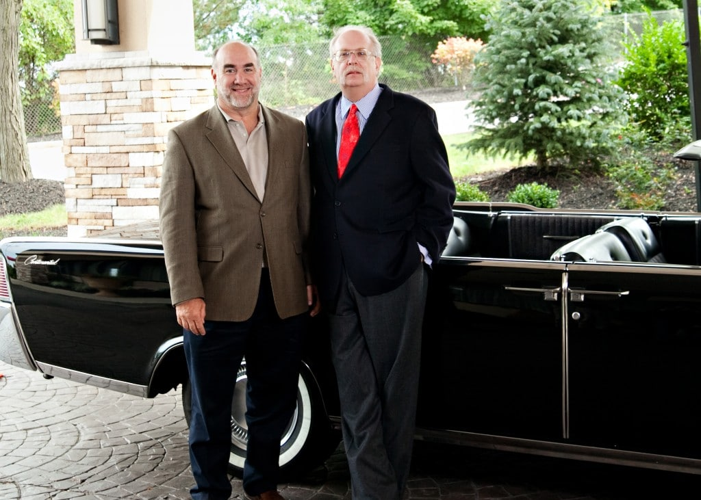 Dan Kennedy & Me with his Lincoln