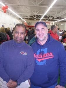 Jimmy Malone with Dan Cricks