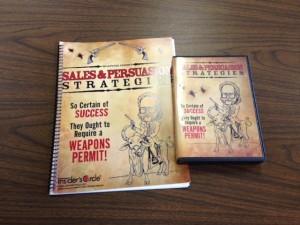 Sales & Persuasion Strategies with 4 CD set