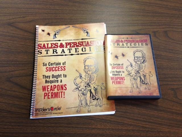 • Sales & Persuasion Strategies with 4 CD set