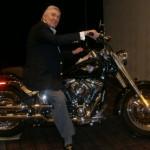 Howard Zeiden on motorcycle