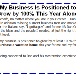 Ron Sheetz: My Business Is Positioned to Grow by 100% This Year Alone!