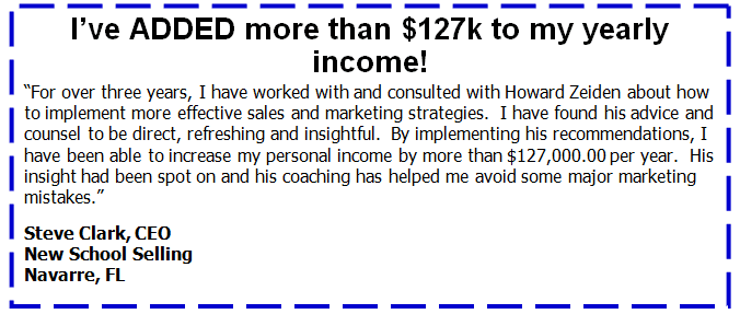 Steve Clark: I've added more than $127k to my income