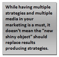 multiple strategies multiple media