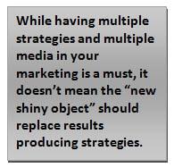 multiple strategies multiple media